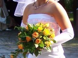 Sprzedam suknię ślubną 2-częściową
