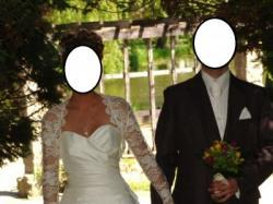 Sprzedam suknię ślubną 34/36 wraz z butami