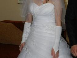 Sprzedam suknie ślubną 38!!!! Ms Moda