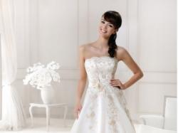 Sprzedam suknię ślubną AGNES ecru rozm. 38
