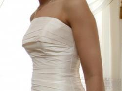 Sprzedam suknię ślubną AGNES z 2009r. 36  ecru