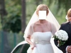 """Sprzedam suknię ślubną  """"Anna"""", kolekcja Manuel Mota"""