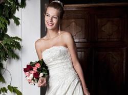 Sprzedam suknię ślubną (annais bridal- francesca)-PRAWIE JAK NOWA!!!