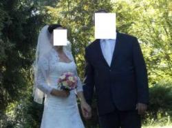 Sprzedam suknię ślubną Annais Bridal rozm.36/38/40 + gratisy!
