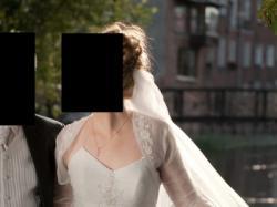 Sprzedam suknię ślubną Aspena - biała, roz. 40-42, 174-183 cm