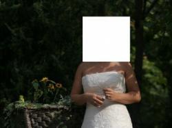 Sprzedam suknię ślubną Bellina w b. dobrym stanie.