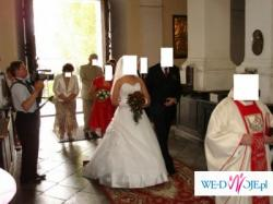 Sprzedam suknie ślubna,biala ,ktora zachwyci kazdego.