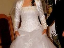 -sprzedam suknię ślubną+ buty ślubne-