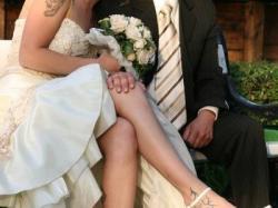 Sprzedam suknie ślubną+ buty -TANIO 300 zł