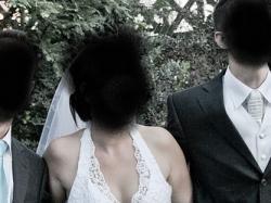 sprzedam suknię ślubną cała z korkonki tren