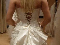 Sprzedam suknię ślubną CYMBELINE CARUSO r.38/40, ecru, stan idealny