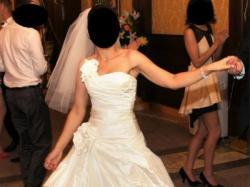 Sprzedam suknie ślubną Cymbeline. Model Ecosse rozm 36/38
