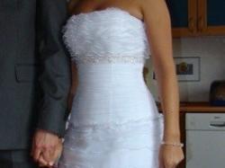 Sprzedam suknię ślubną Daphnee-biała