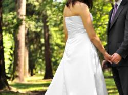 Sprzedam suknię ślubną Delhi rozm. 38
