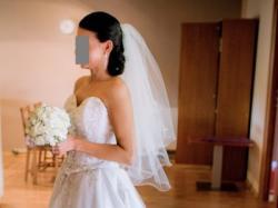 Sprzedam suknię ślubną Demetrios 984 rozmiar 34/36