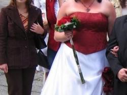 sprzedam suknię ślubną dla puszystej