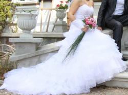 Sprzedam Suknię Ślubną +Dodatki