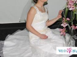 sprzedam suknię ślubną + dodatki