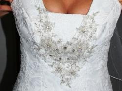 Sprzedam suknie ślubną +dodatki!!!!!!