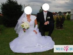 sprzedam suknię ślubną + dodatki gratis