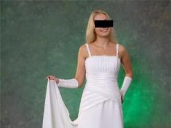 Sprzedam Suknię Ślubną (draperia)roz.38