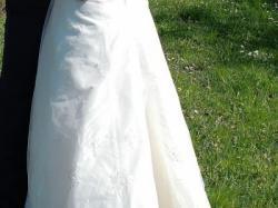 sprzedam suknie ślubna ecri, rozm. 40 poznań