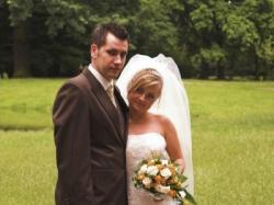 Sprzedam suknie ślubną ecru z kolekcji Sincerity 3143rozm 36/38