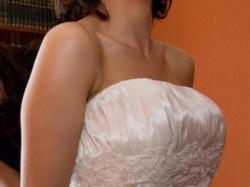 Sprzedam suknię ślubną Eddy K z trenem