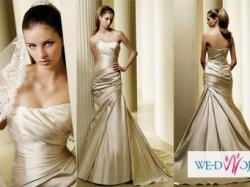 Sprzedam suknię ślubną Fanal hiszpańskiej firmy La Sposa + dodatki