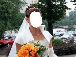 """Sprzedam suknię ślubną """"Fantazja"""" w kolorze ecru z dodatkami złota / Sophia"""