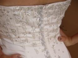Sprzedam suknię ślubną firmy Adeline model Adabiel w kolorze ecru