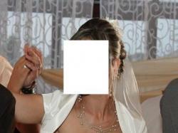 Sprzedam suknię ślubną firmy AGNES model 4611_653a, rozmiar 36/38 OKAZJA