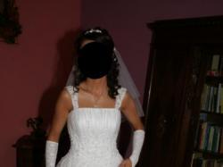 Sprzedam suknię ślubną firmy Agnes rozm 36