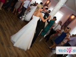 sprzedam suknię ślubną firmy AGNES + wlon z kamykami swarovskiego