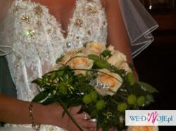 Sprzedam suknię ślubną firmy AGORA + gratis