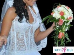 Sprzedam suknię ślubną firmy Angel!!! Własny projekt!!! Okazja!