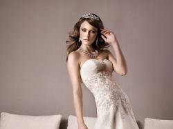 Sprzedam suknię ślubną firmy Annais model Kate rozm 34/36 Biała!