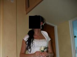 Sprzedam suknie ślubną firmy CYMBELINE + chalkę + bolerko