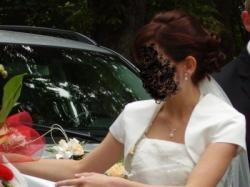 Sprzedam suknię ślubną firmy Herms r.36 ecru
