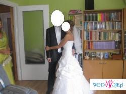 """Sprzedam suknię ślubną firmy """"Michalak"""" z kolekcji 2009"""