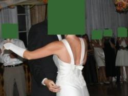 Sprzedam suknię ślubną firmy Papa Michel z kolekcji 2008 za 1000 zł