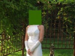 Sprzedam suknię ślubną firmy Papa Michel z kolekcji 2008 za 800 zł