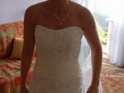 sprzedam suknie ślubna firmy sweetheart model 5885 rozmiar 36