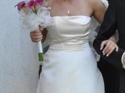 sprzedam suknie ślubną francuskiej firmy Cymberline 2011