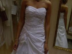 Sprzedam suknię ślubną francuskiej firmy Herms - model 2009 Emfis