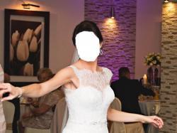Sprzedam suknię ślubną, gratis bolerko i halka z kołem!