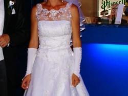 Sprzedam suknię ślubną, gratis rękawiczki