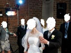 Sprzedam suknię ślubną, halka gratis!