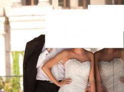 Sprzedam suknię ślubną Herm's Eldora model 2010 r. Rozmiar 36/38