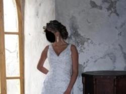 Sprzedam suknię ślubną Herm's model Enya z Salonu Adeline Wrocław Rozmiar 40